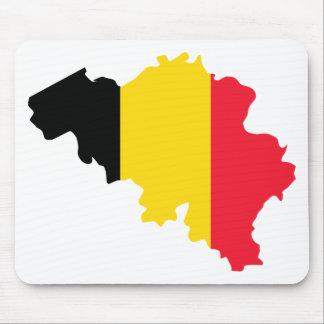 Belgium BE Mouse Mat