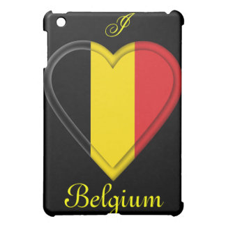 Belgium Belgian Flag Cover For The iPad Mini