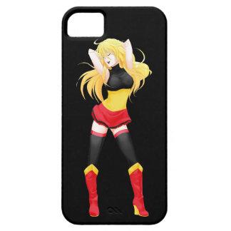 Belgium Belgian Manga Flag girl Barely There iPhone 5 Case