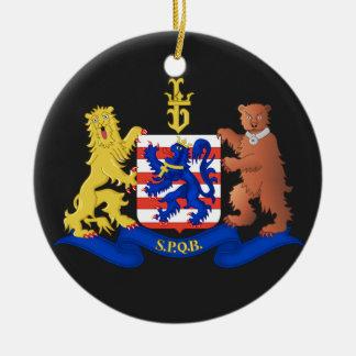 Belgium Bruges* Christmas Ornament