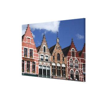 Belgium, Brugge (aka Brug or Bruge). UNESCO 2 Canvas Print