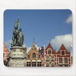 Belgium, Brugge (aka Brug or Bruge). UNESCO Mouse Mat