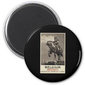 Belgium Brussels 6 Cm Round Magnet