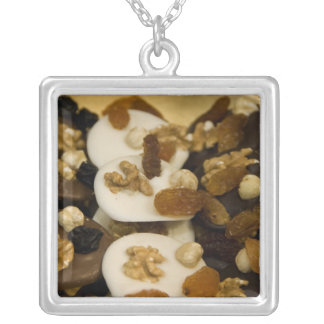 Belgium, Brussels. World famous Belgium 2 Silver Plated Necklace