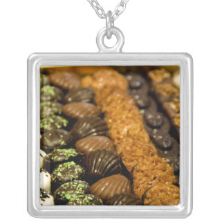 Belgium, Brussels. World famous Belgium Silver Plated Necklace