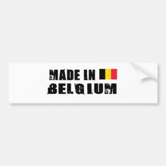 BELGIUM BUMPER STICKER