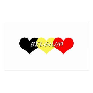Belgium Business Cards
