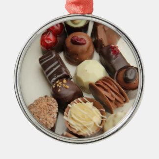 Belgium chocolates christmas ornaments
