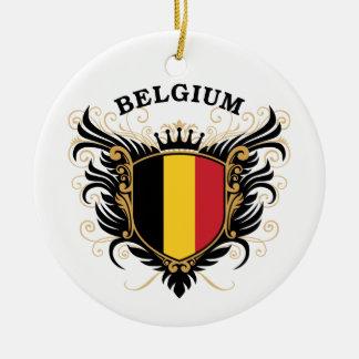 Belgium Christmas Ornament
