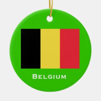 BELGIUM* Christmas Ornament