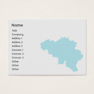 Belgium - Chubby Business Card