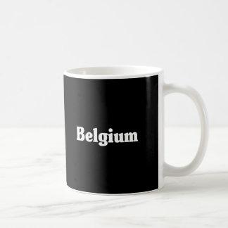 Belgium Classic Style Coffee Mug