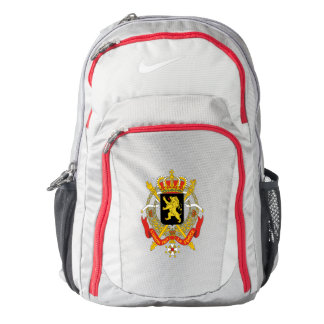 Belgium coat of arms backpack