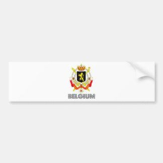 Belgium Coat of Arms Bumper Sticker