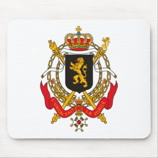 Belgium Coat of Arms Mousepad
