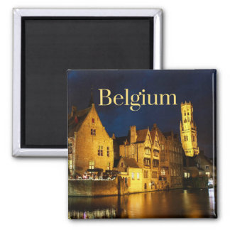Belgium Collectible Magnet