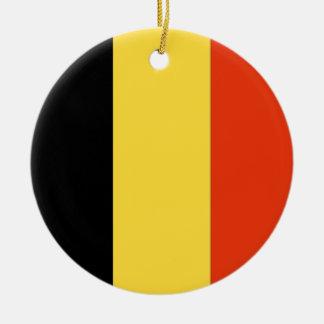 Belgium Round Ceramic Decoration