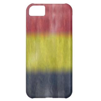 Belgium distressed flag iPhone 5C case