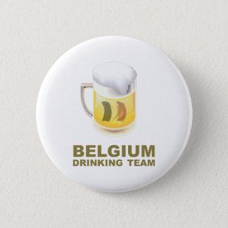 Belgium Drinking Team 6 Cm Round Badge