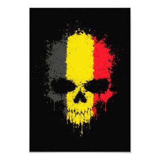 Belgium Dripping Splatter Skull Announcement