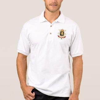 Belgium Emblem Coat of Arms - Armoiries Belgique Polo Shirt