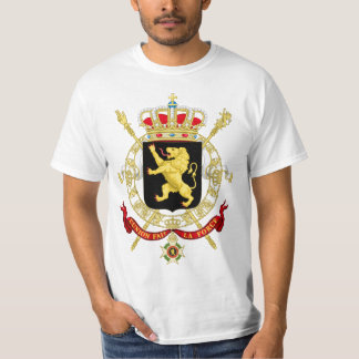 Belgium Emblem Coat of Arms - Armoiries Belgique T-Shirt