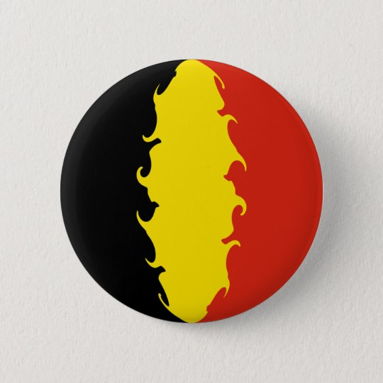 Belgium Flag 6 Cm Round Badge