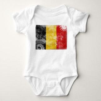 Belgium Flag Baby Bodysuit