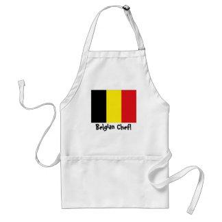 Belgium flag Chef apron