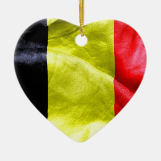 Belgium Flag Christmas Ornaments