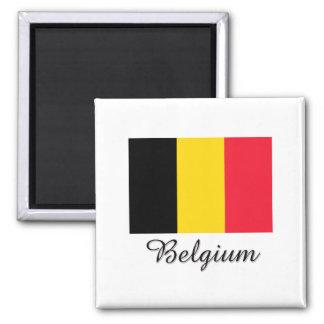 Belgium Flag Design Magnet