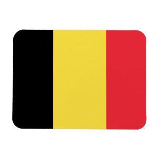 Belgium Flag Rectangular Photo Magnet