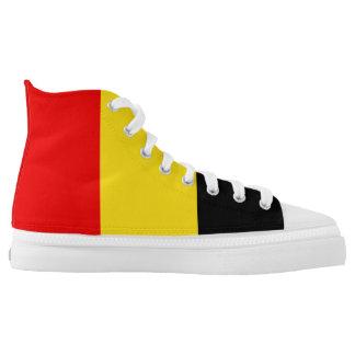 Belgium Flag High Tops