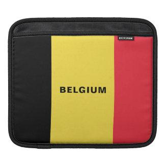 Belgium Flag iPad Sleeves
