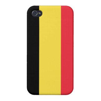 Belgium Flag iPhone Case Cover For iPhone 4