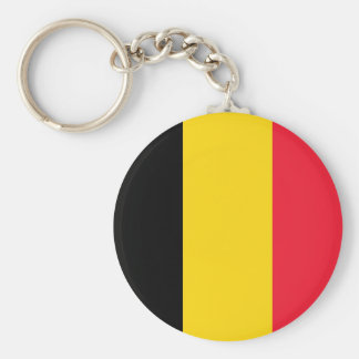 Belgium Flag Key Ring