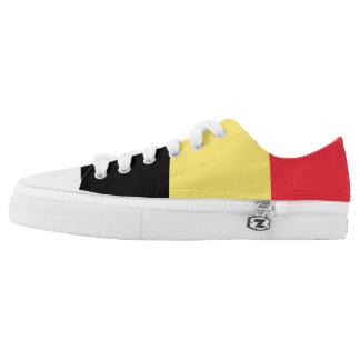 Belgium Flag Low Top Shoes