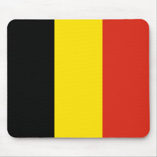Belgium Flag Mousepad