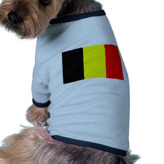 Belgium flag pet tshirt