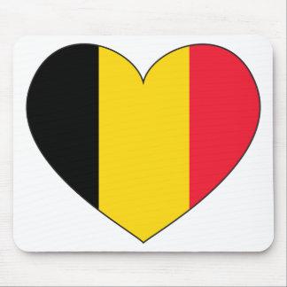 Belgium Flag Simple Mouse Mat