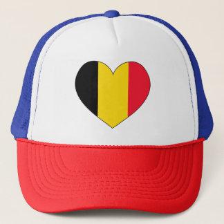 Belgium Flag Simple Trucker Hat