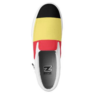 Belgium Flag Slip On Shoes
