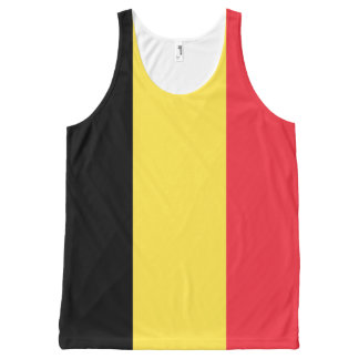 Belgium Flag Tank top
