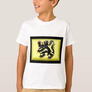 Belgium-Flanders Flag T-Shirt