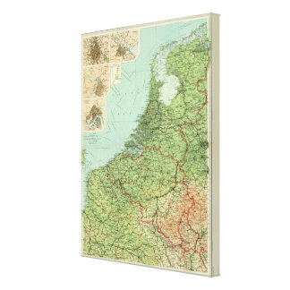 Belgium & Holland Canvas Print
