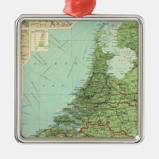 Belgium & Holland Christmas Tree Ornaments