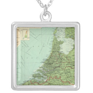 Belgium & Holland Silver Plated Necklace