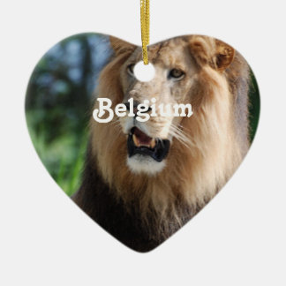Belgium Lion Ornaments
