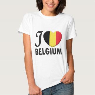 Belgium Love Tshirt