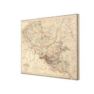 Belgium, Luxembourg Canvas Print